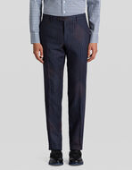 TAILORED TROUSERS WITH PATCHWORK PRINT