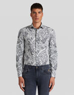 PAISLEY印花棉质衬衫