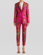 TAILORED JACKET IN JACQUARD