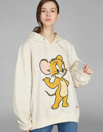 HOODED SWEATSHIRT WITH JERRY PRINT