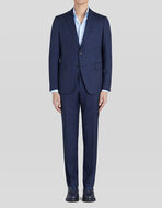 TAILORED SUIT IN WOOL AND SILK
