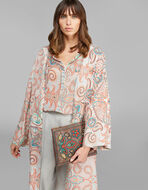 PAISLEY POUCH WITH FLORAL EMBROIDERY