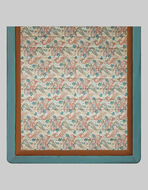 QUILT WITH FLORAL PAISLEY PRINT