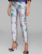花卉提花长裤