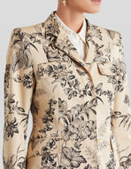 JUNGLE PRINT COTTON JACKET