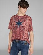 PAISLEY デザイン Tシャツ