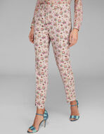 FLORAL PAISLEY TROUSERS