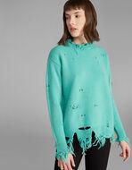 デストロイドエフェクトのウールセーター