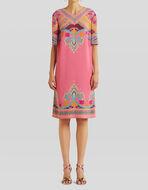 NAÏF PAISLEY PRINT TUNIC DRESS
