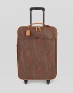 CARRY-ON BAG WITH PAISLEY MOTIFS
