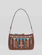 刺绣PAISLEY手提包
