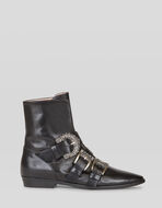 ANKLE BOOTS WITH JEWEL BUCKLES