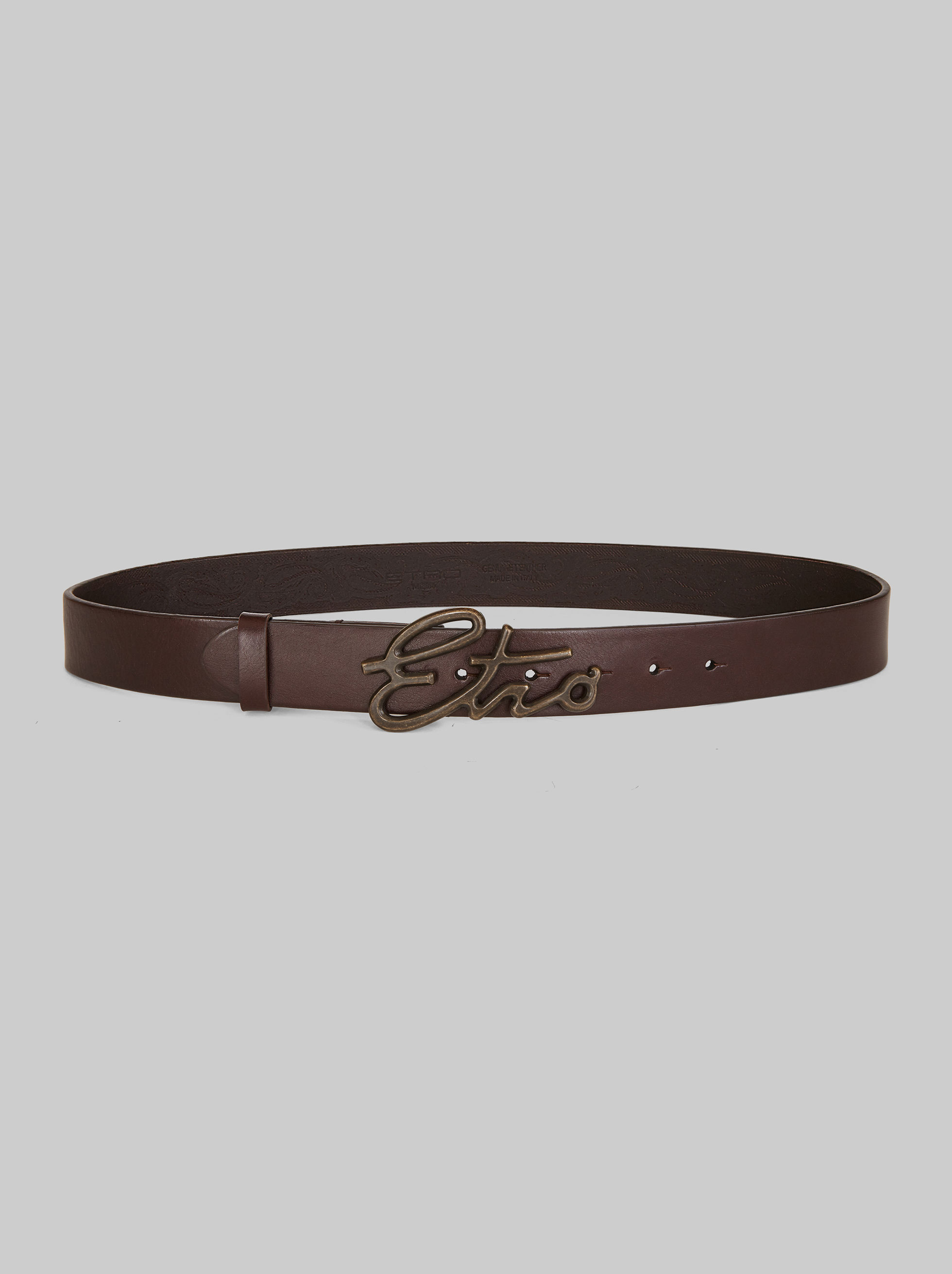 BELT WITH LOGO