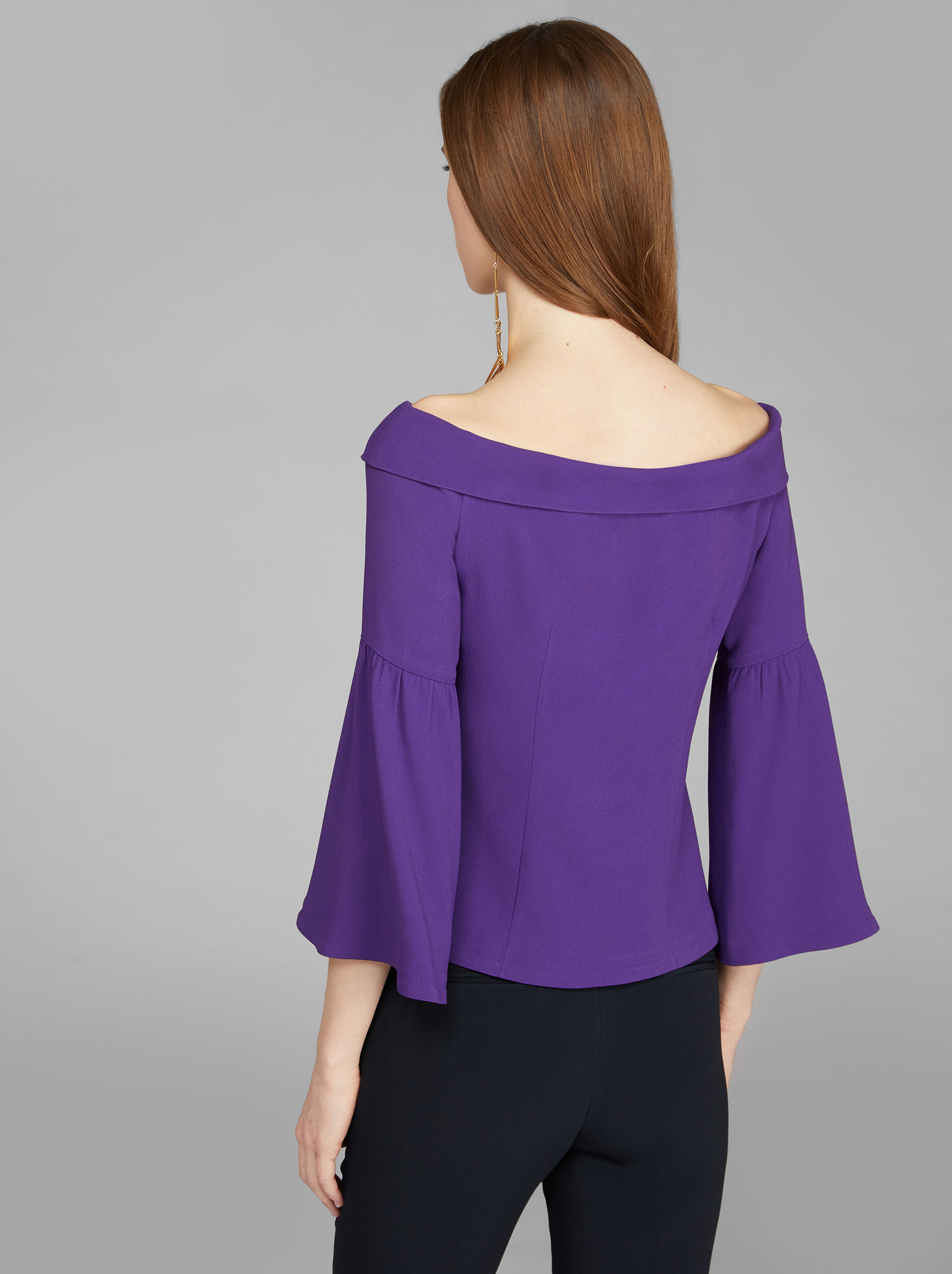 SHOULDERLESS TOP