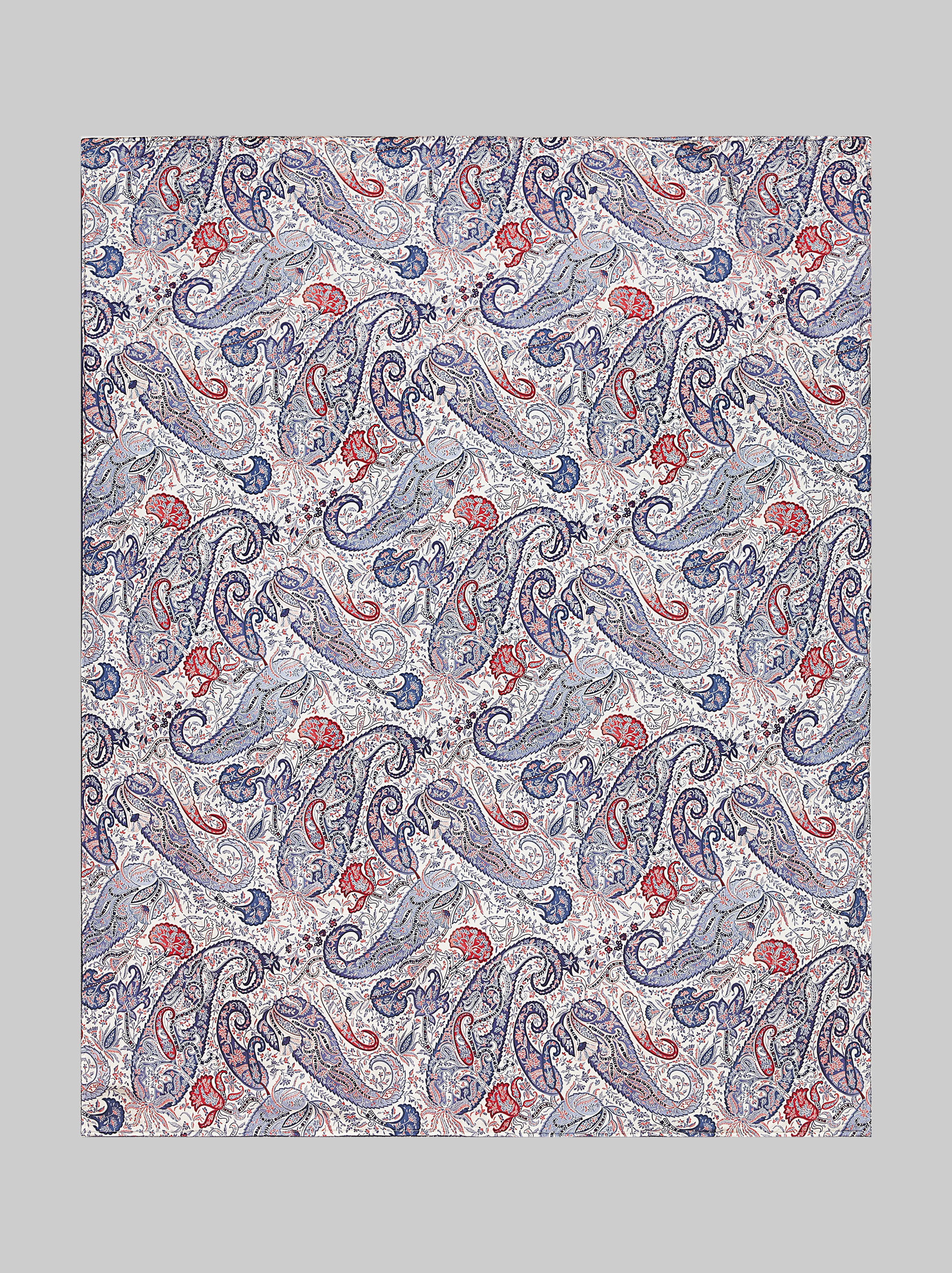 BATH SHEET WITH PAISLEY PRINT