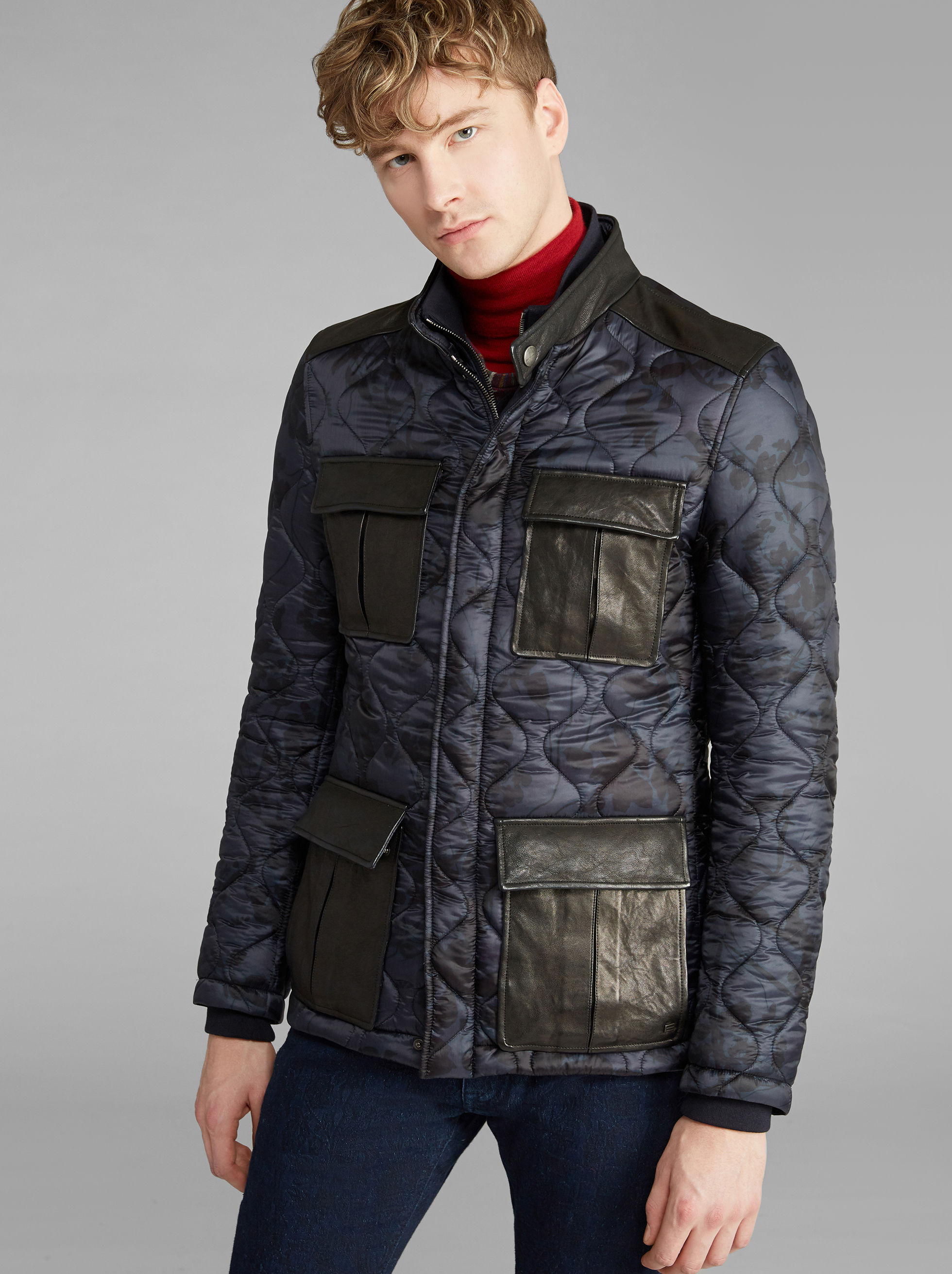 PADDED SAFARI JACKET WITH SPORT WAISTCOAT