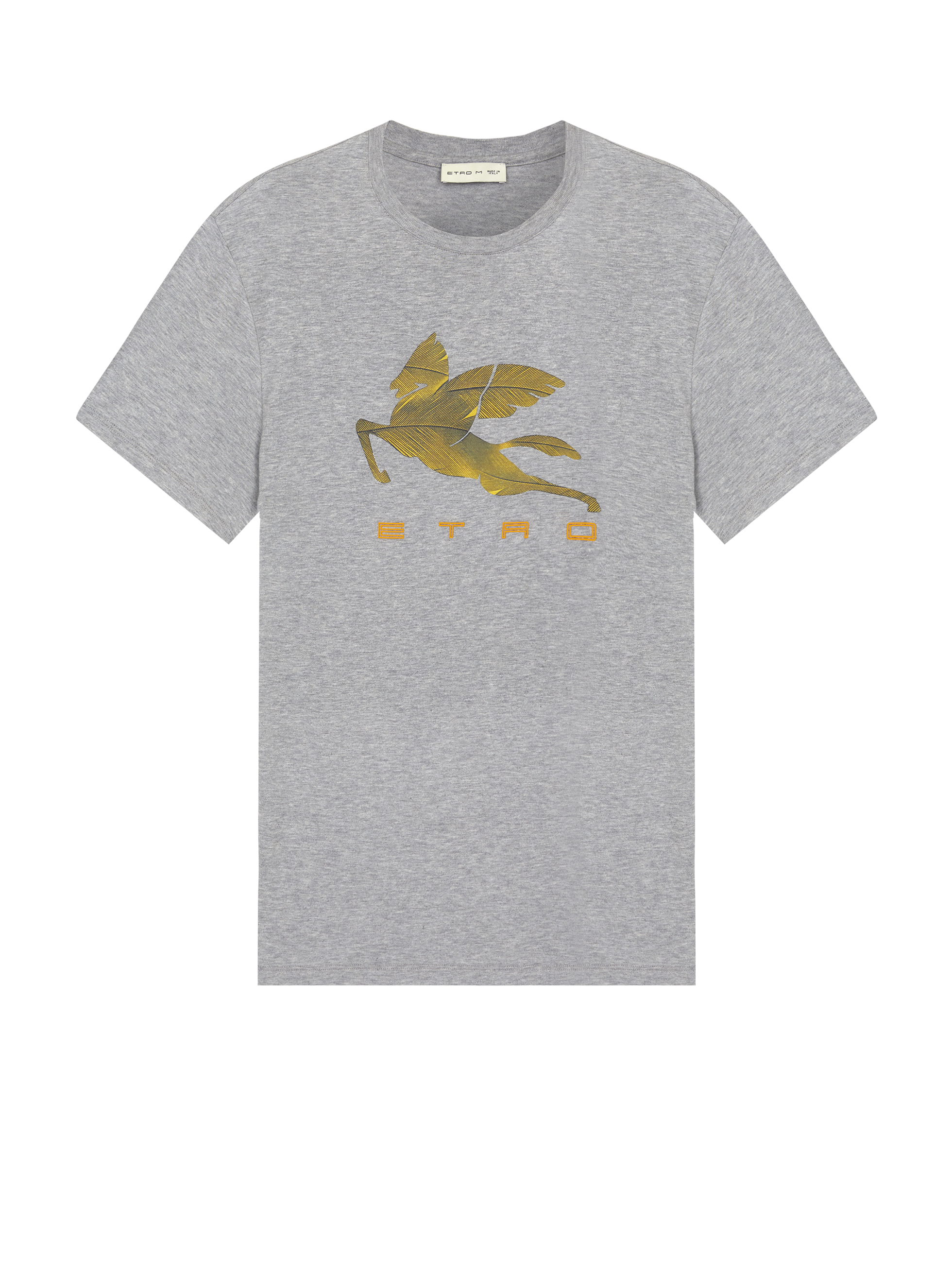 T-SHIRT WITH PEGASO PRINT