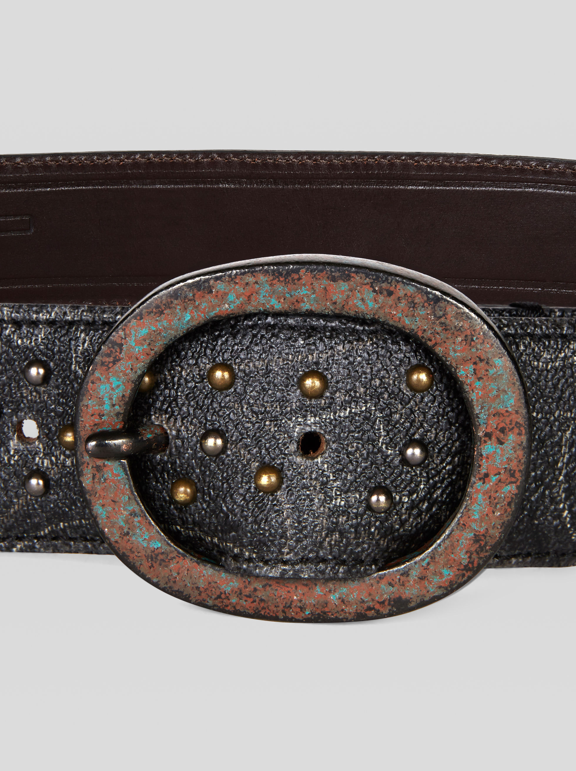 PAISLEY BELT WITH STUDS