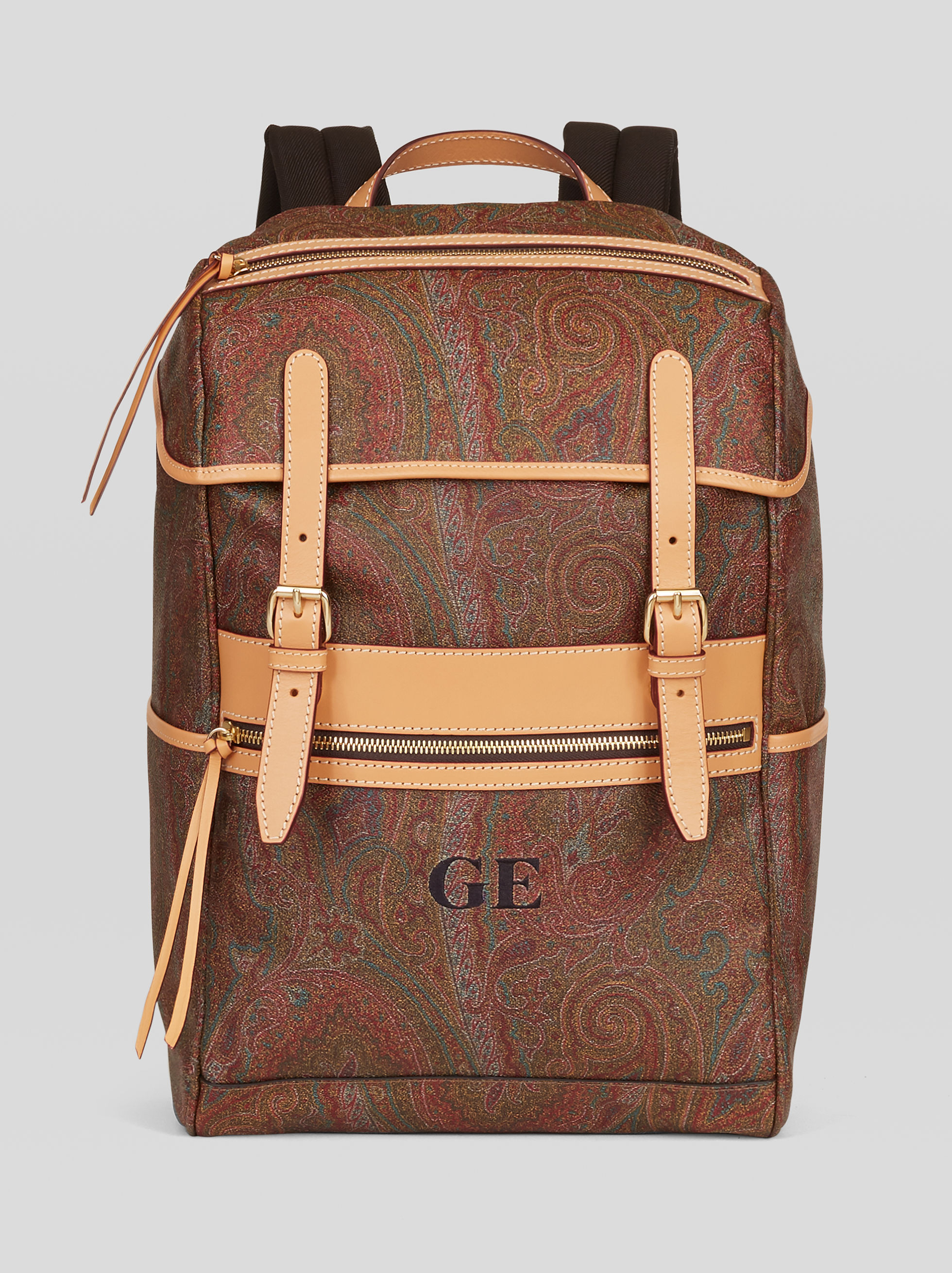 PAISLEY JACQUARD BACKPACK