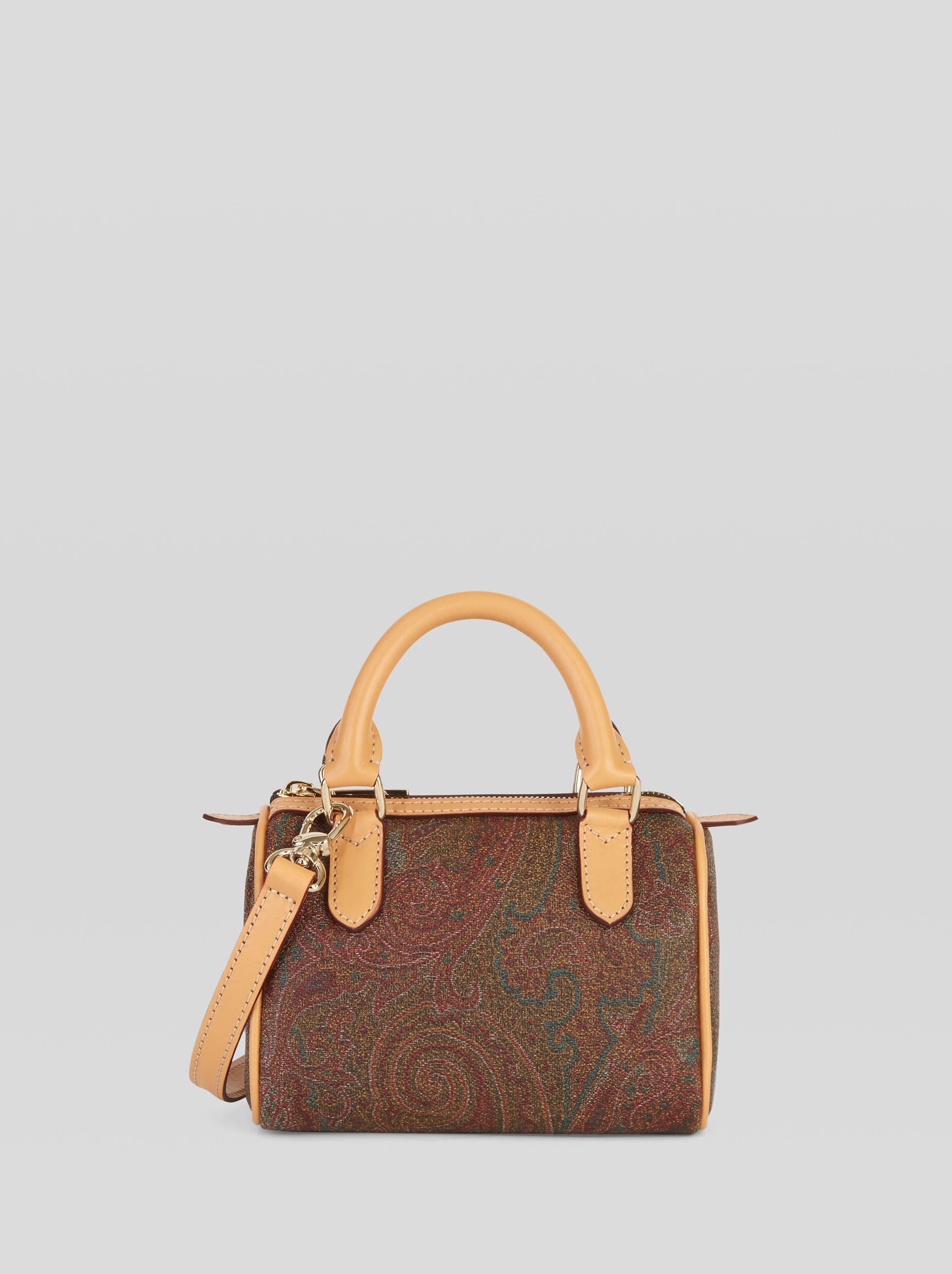 MINI PAISLEY BOSTON BAG