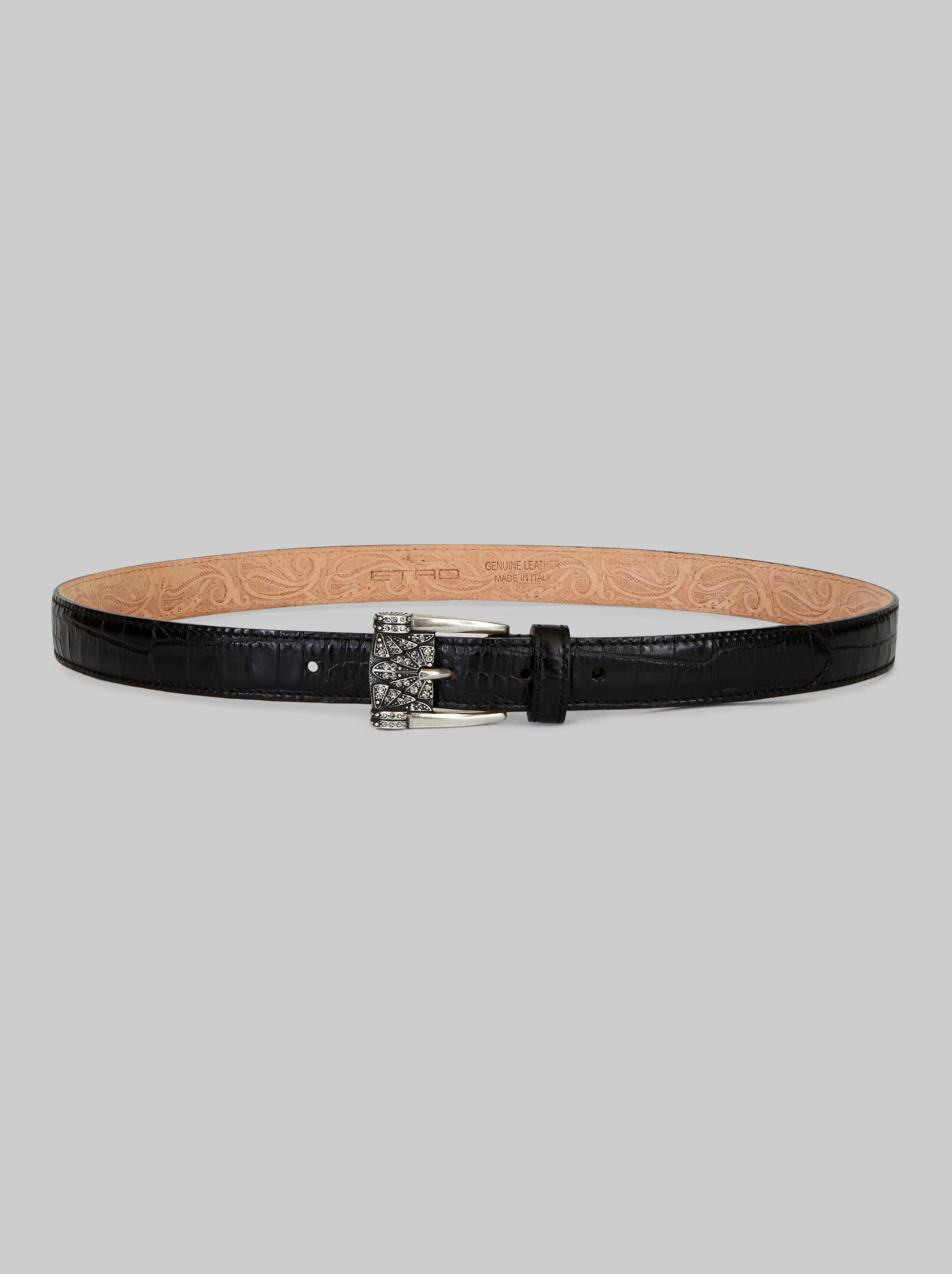 BELT WITH JEWEL BUCKLE