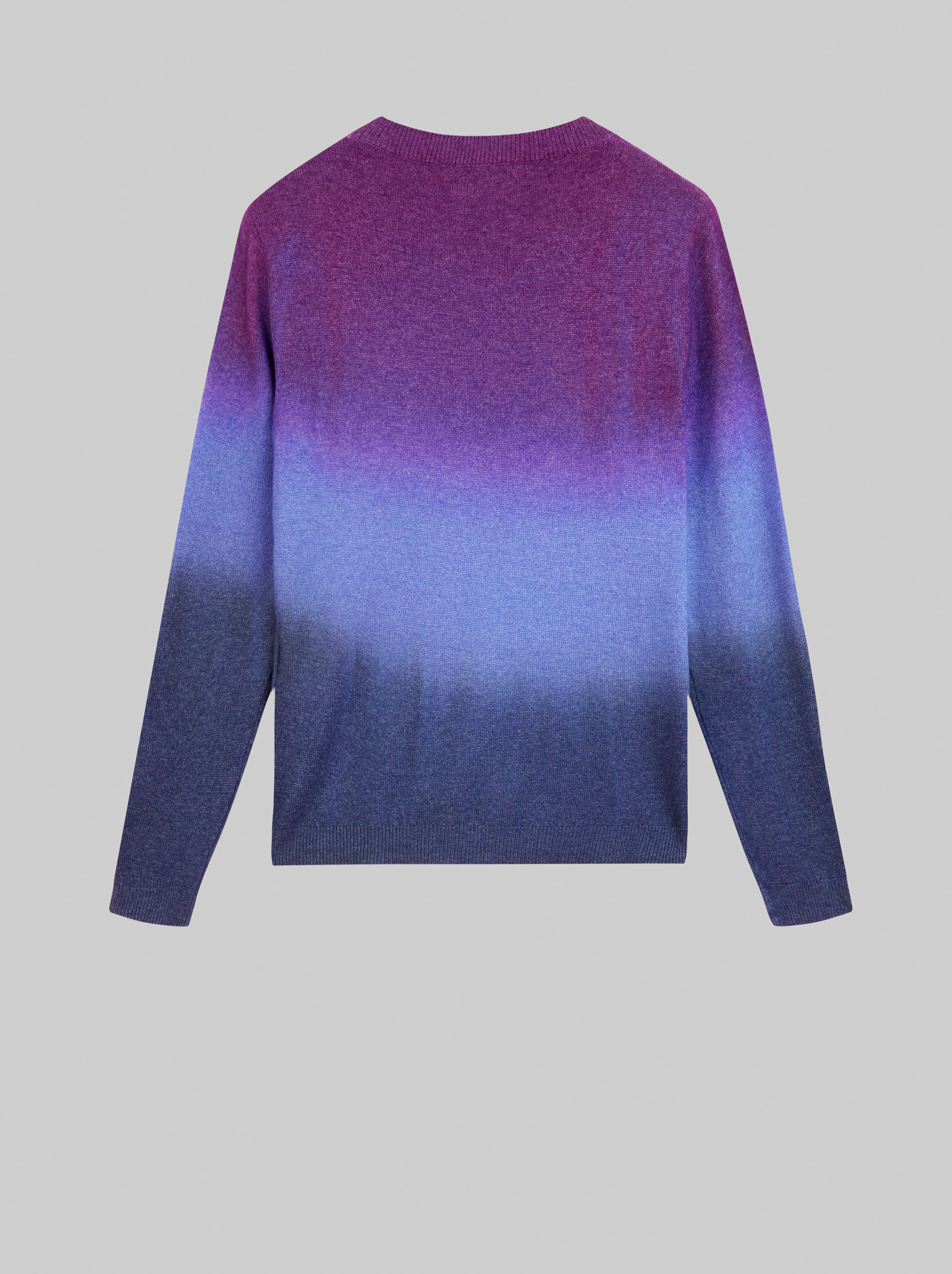 DEGRADÉ WOOL AND CASHMERE JUMPER