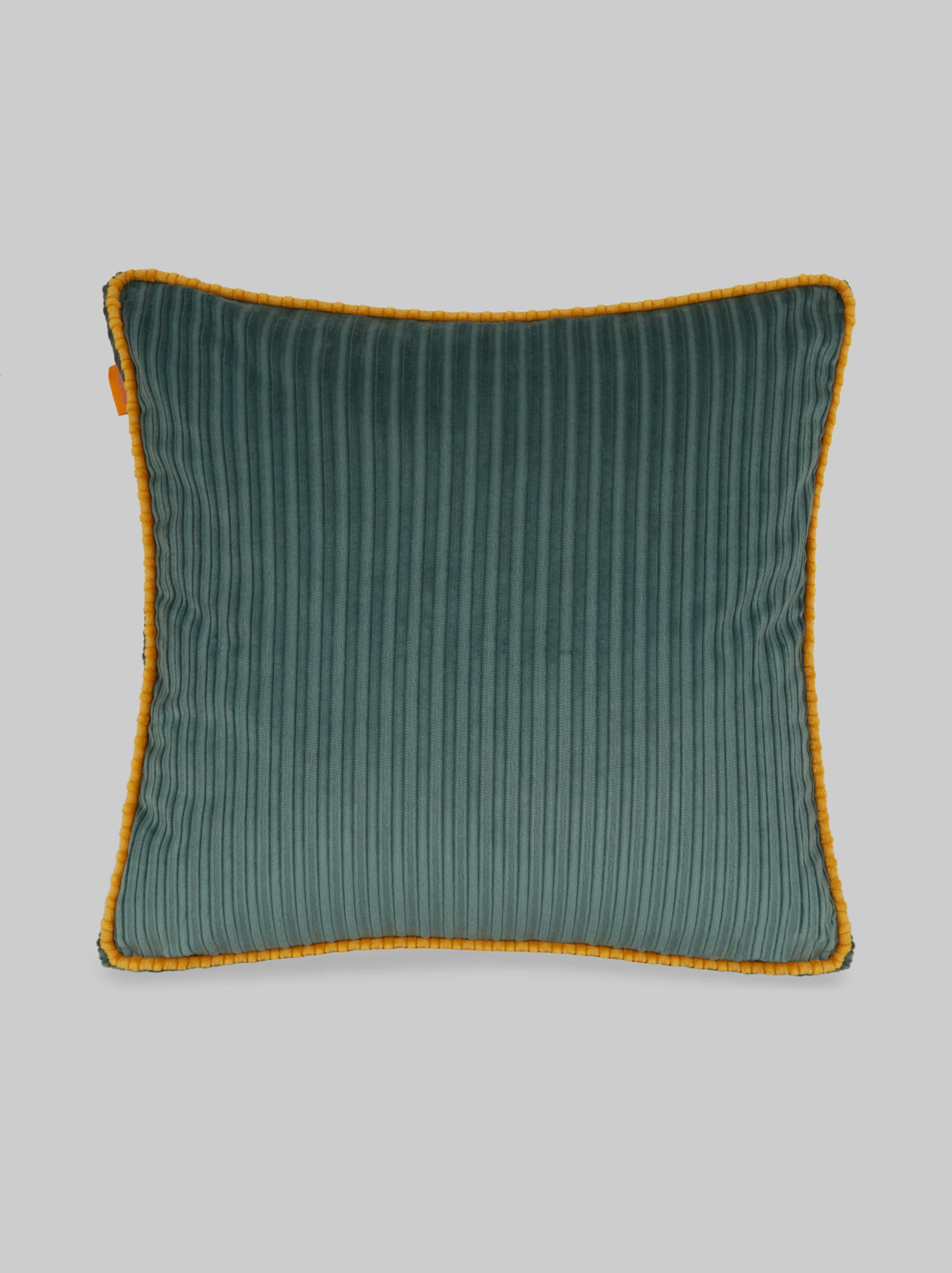 COTTON VELVET CUSHION WITH JUNGLE PATTERNS