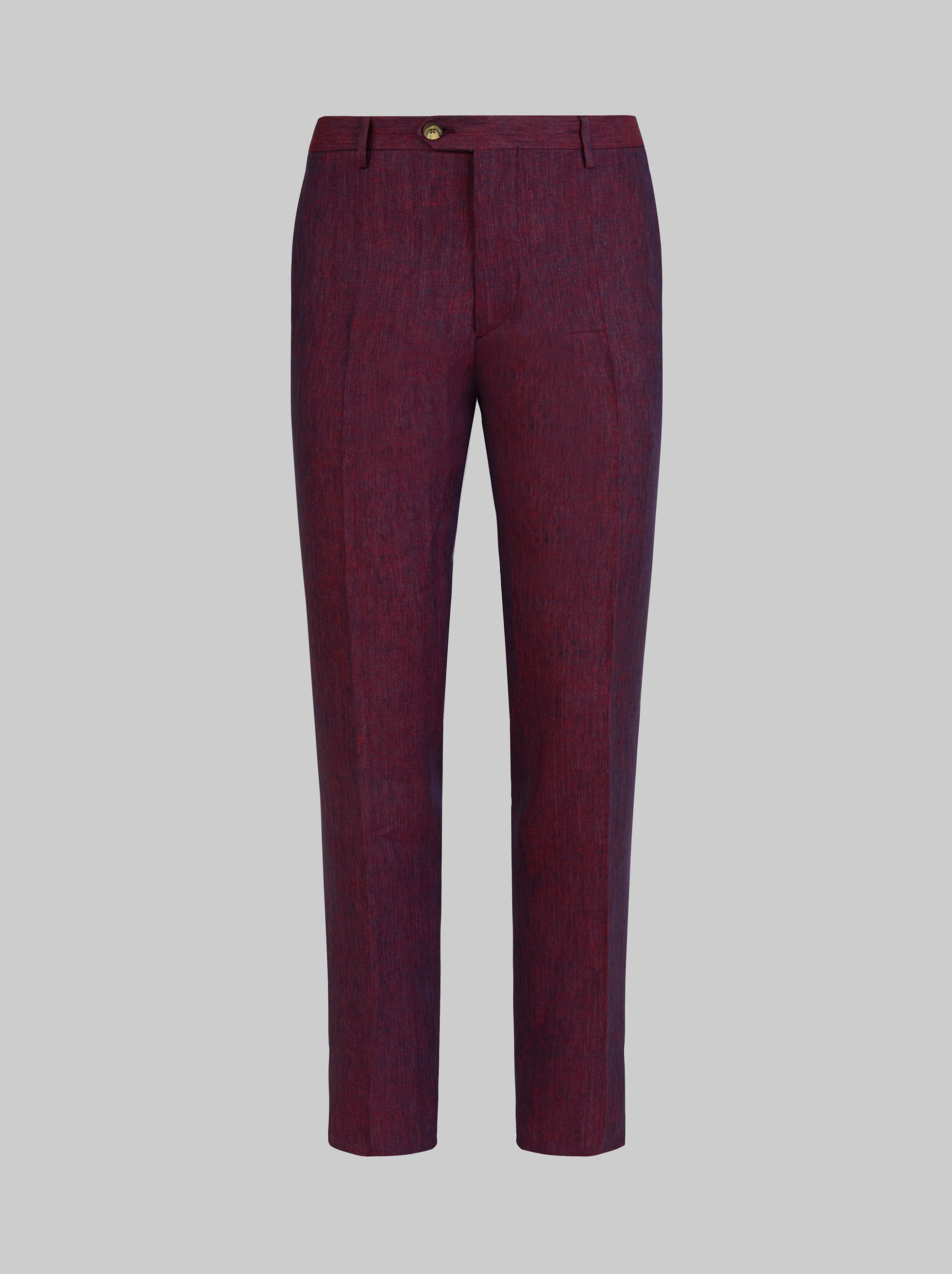 LINEN TAILORED TROUSERS