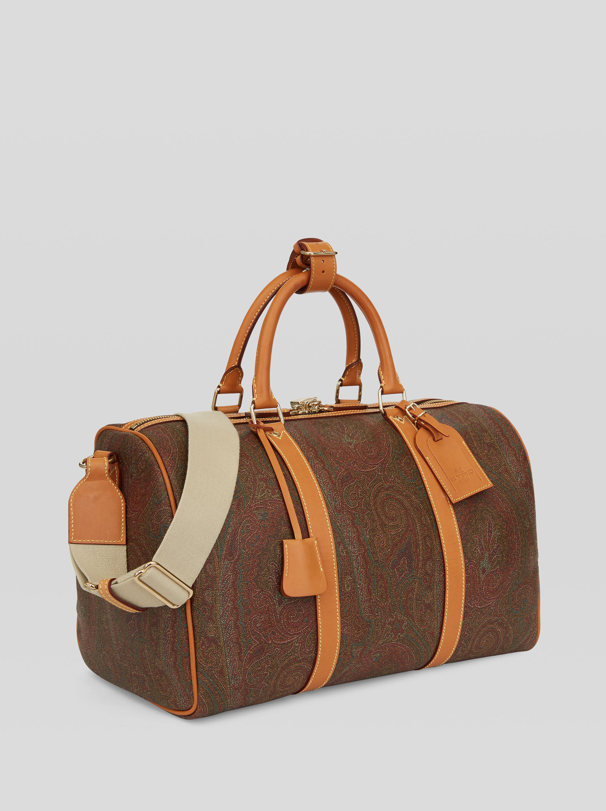 TRAVEL BAG WITH PAISLEY MOTIIFS