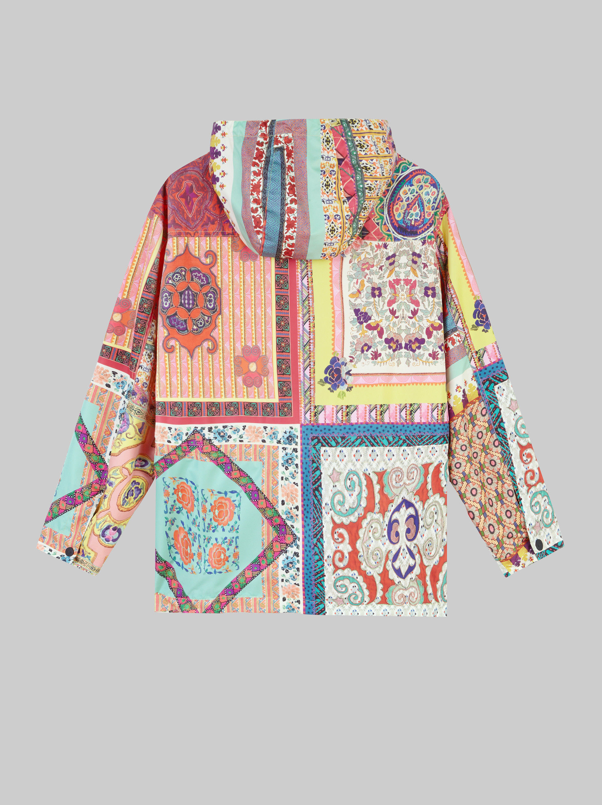 PATCHWORK PRINT JACKET