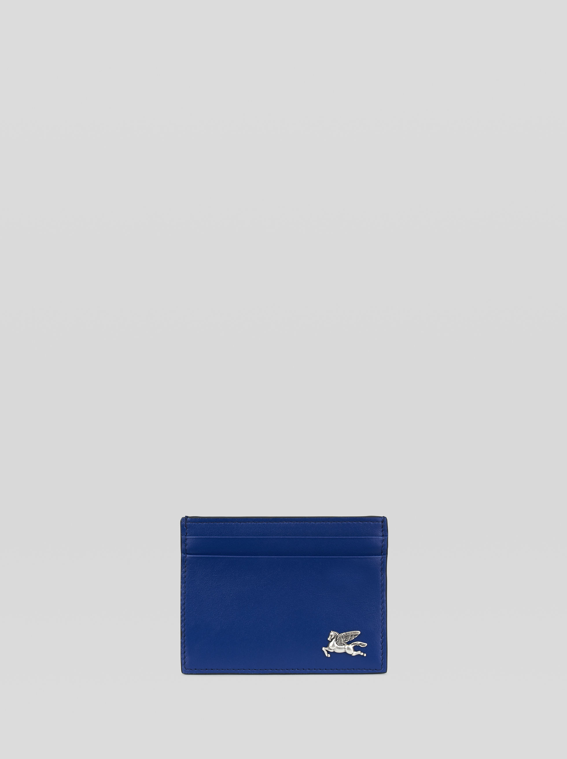 LEATHER CARD HOLDER WITH PEGASO