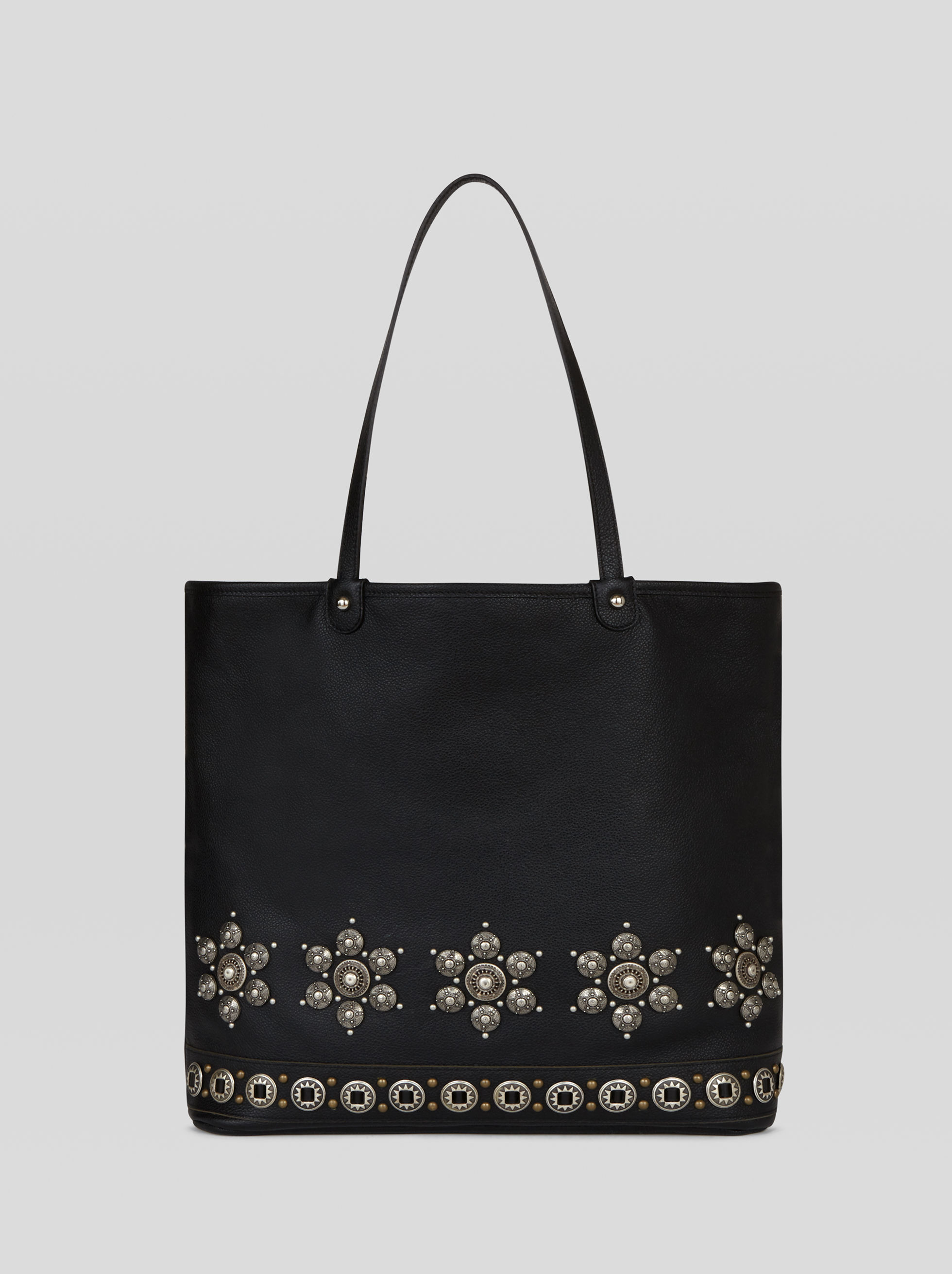 SHOPPING BAG WITH STUDS