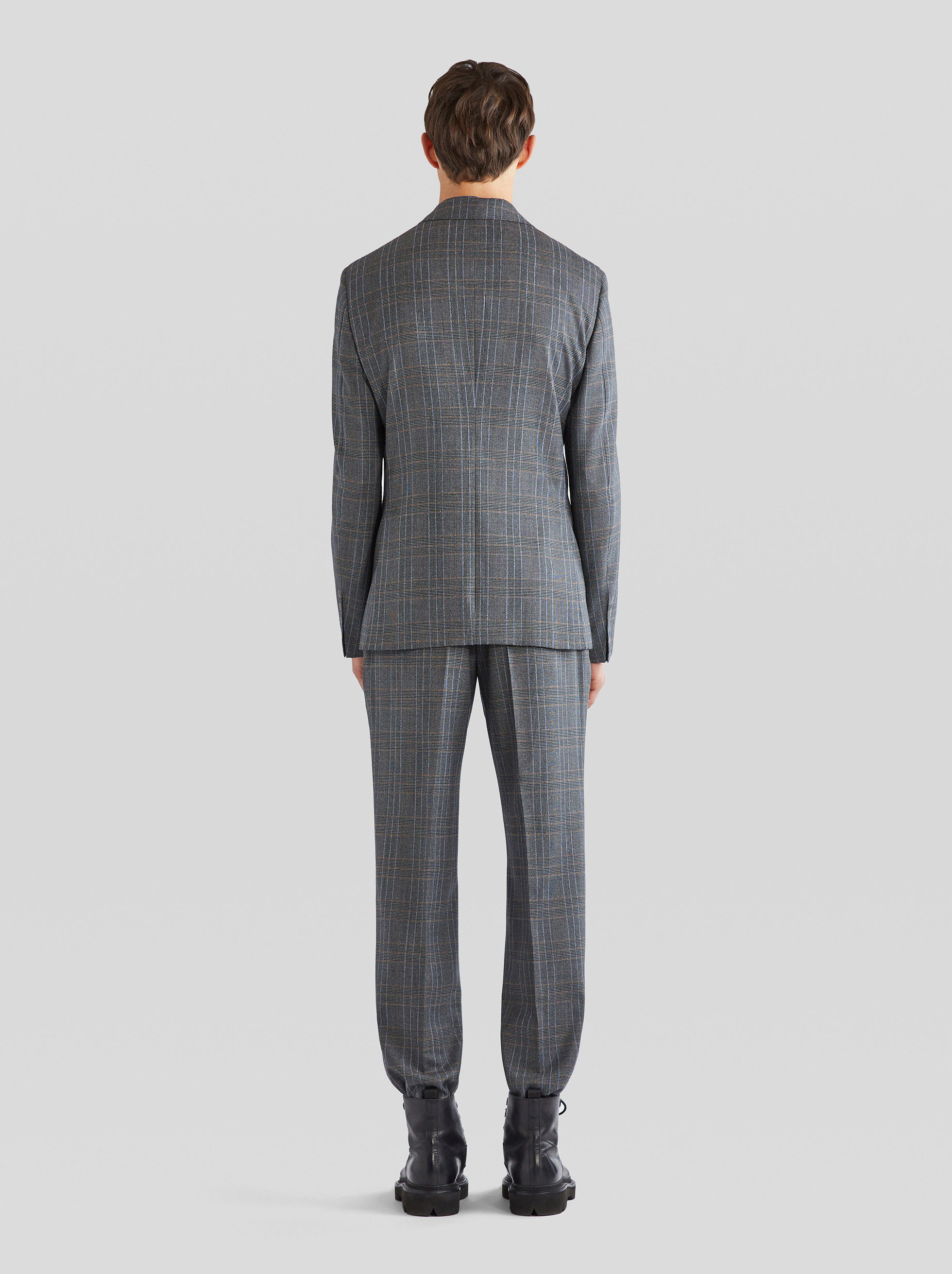 CHECK TAILORED SUIT