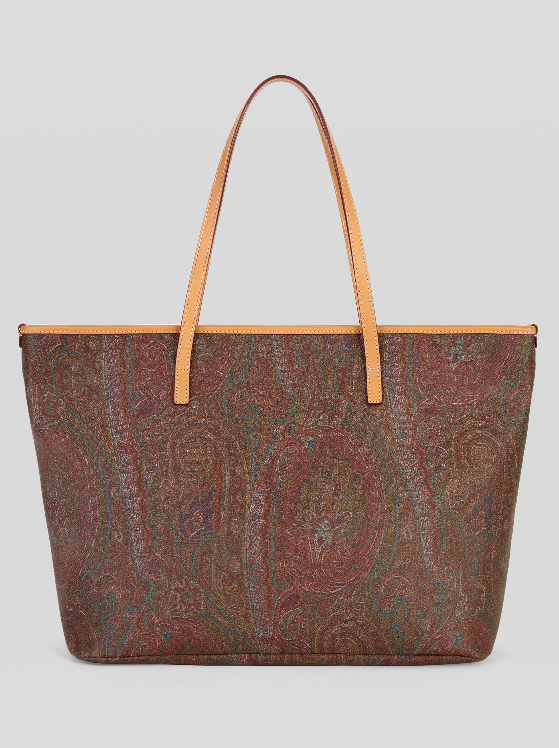 SHOPPINGTASCHE MIT PAISLEY-MUSTERN