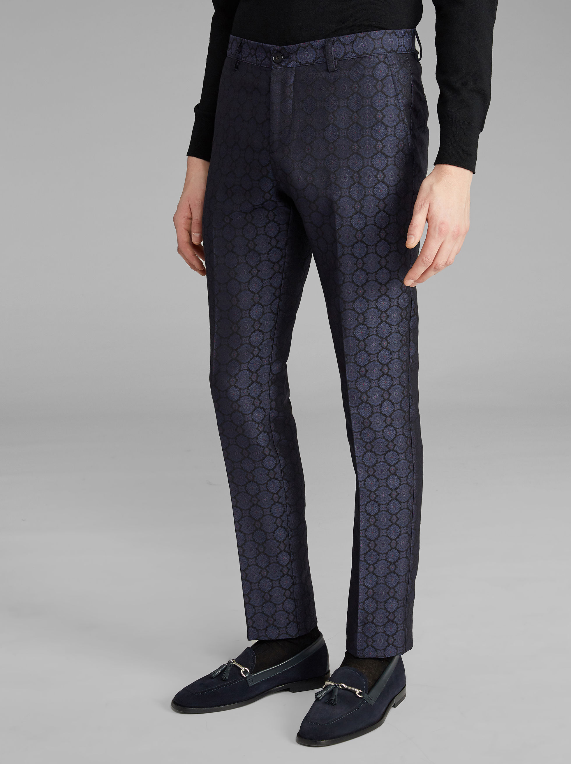 JACQUARD TROUSERS