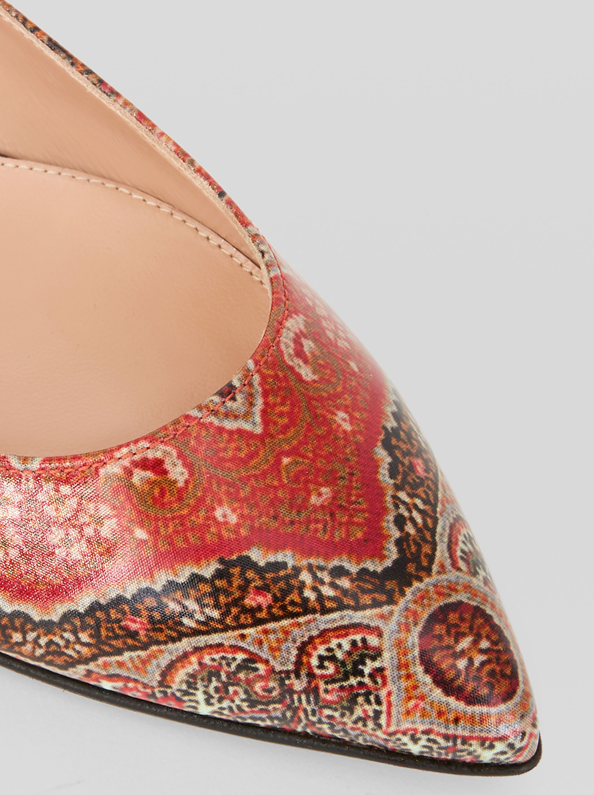 GIANVITO ROSSI BALLERINAS FOR ETRO