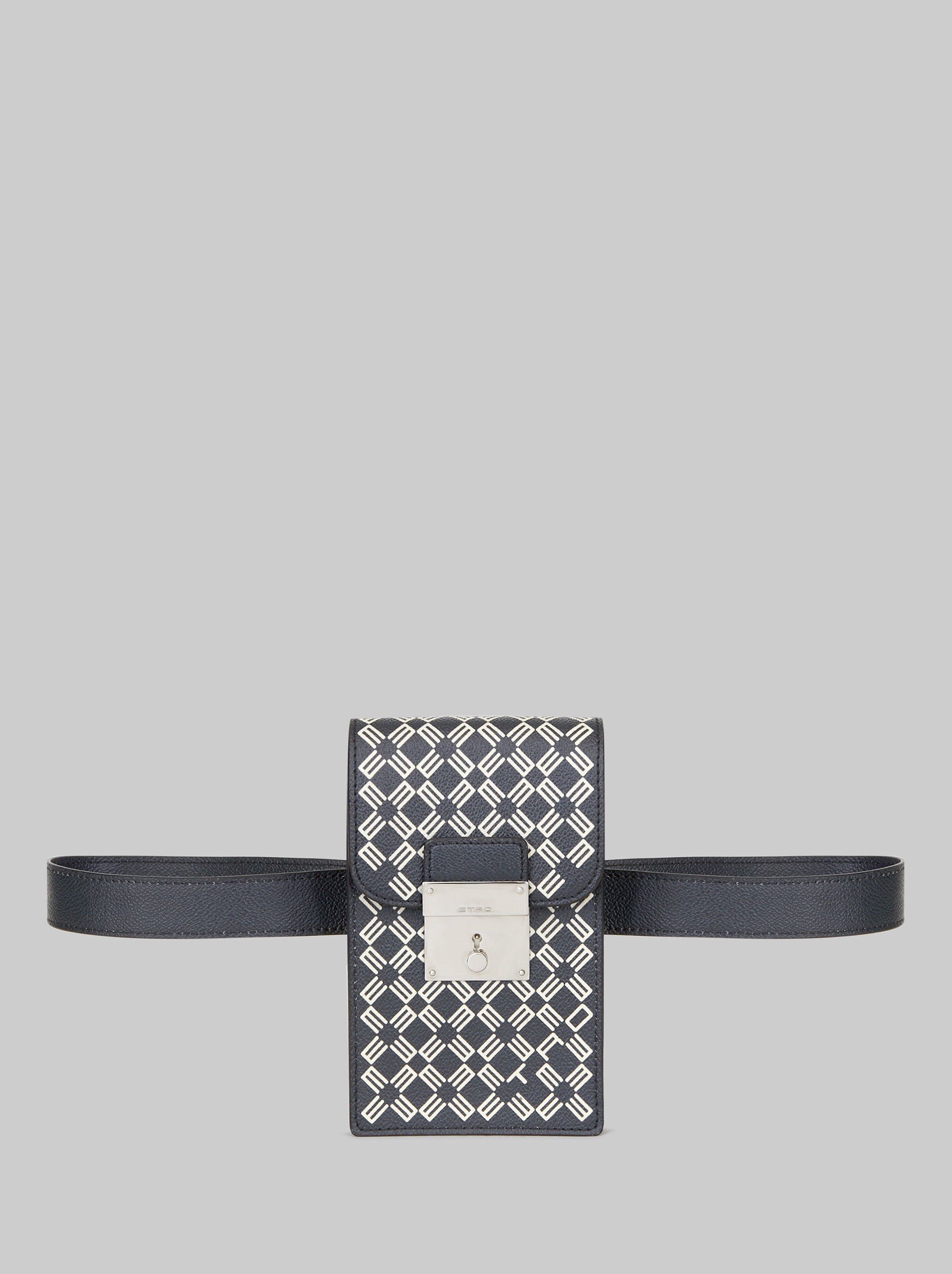 PRINTED PVC BELT BAG
