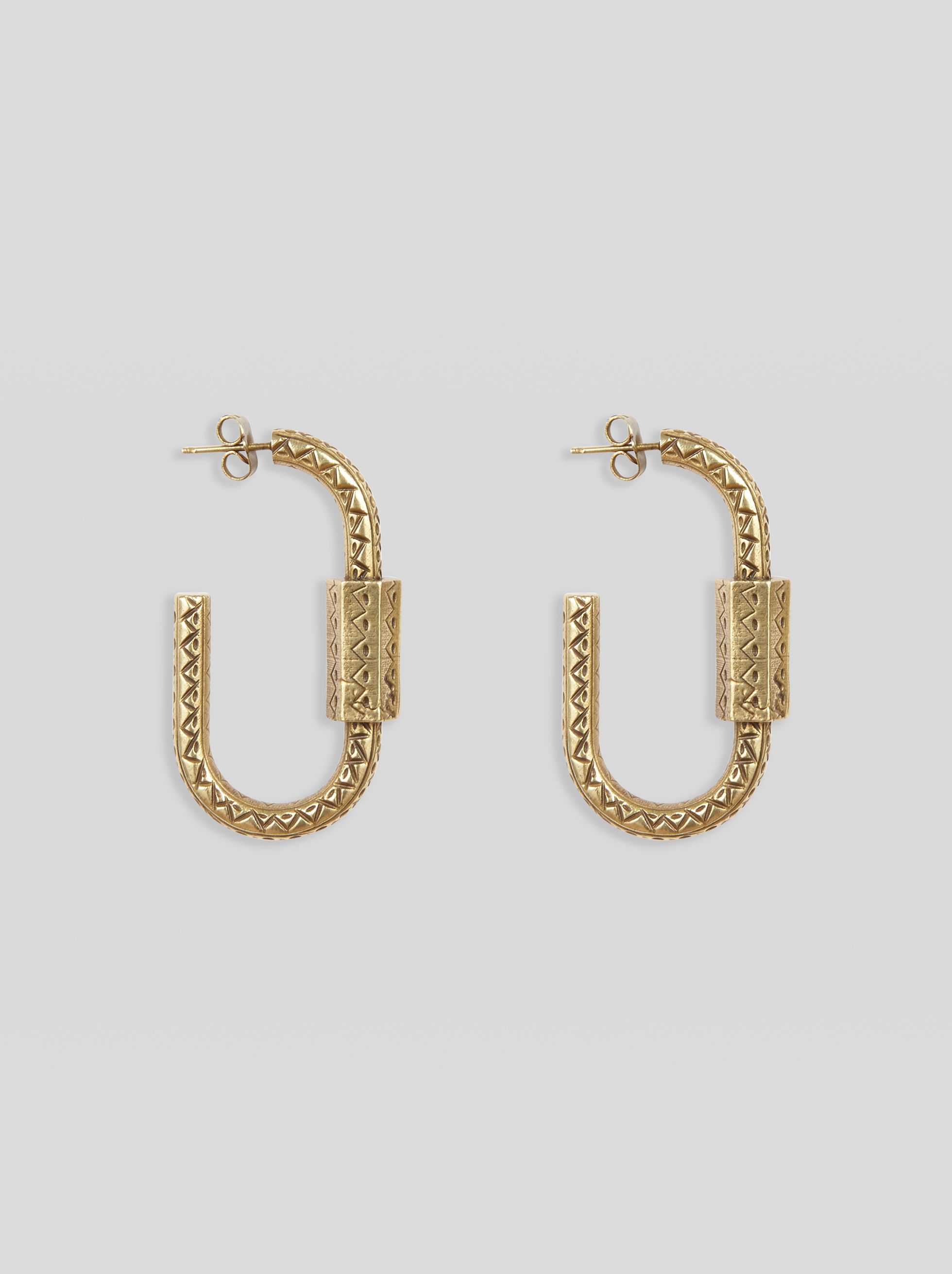 SNAP-HOOK EARRINGS
