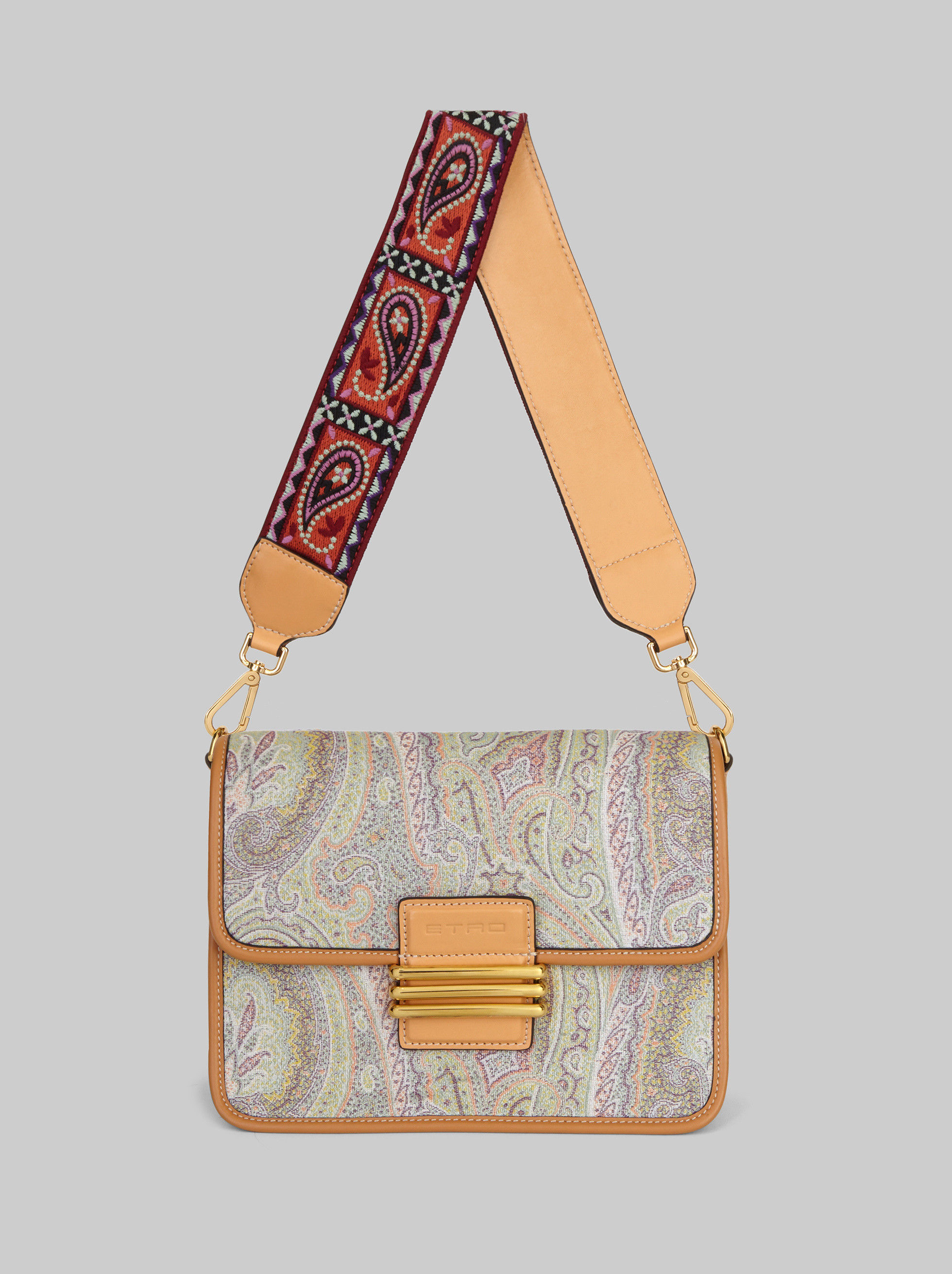 PAISLEY FABRIC RAINBOW BAG