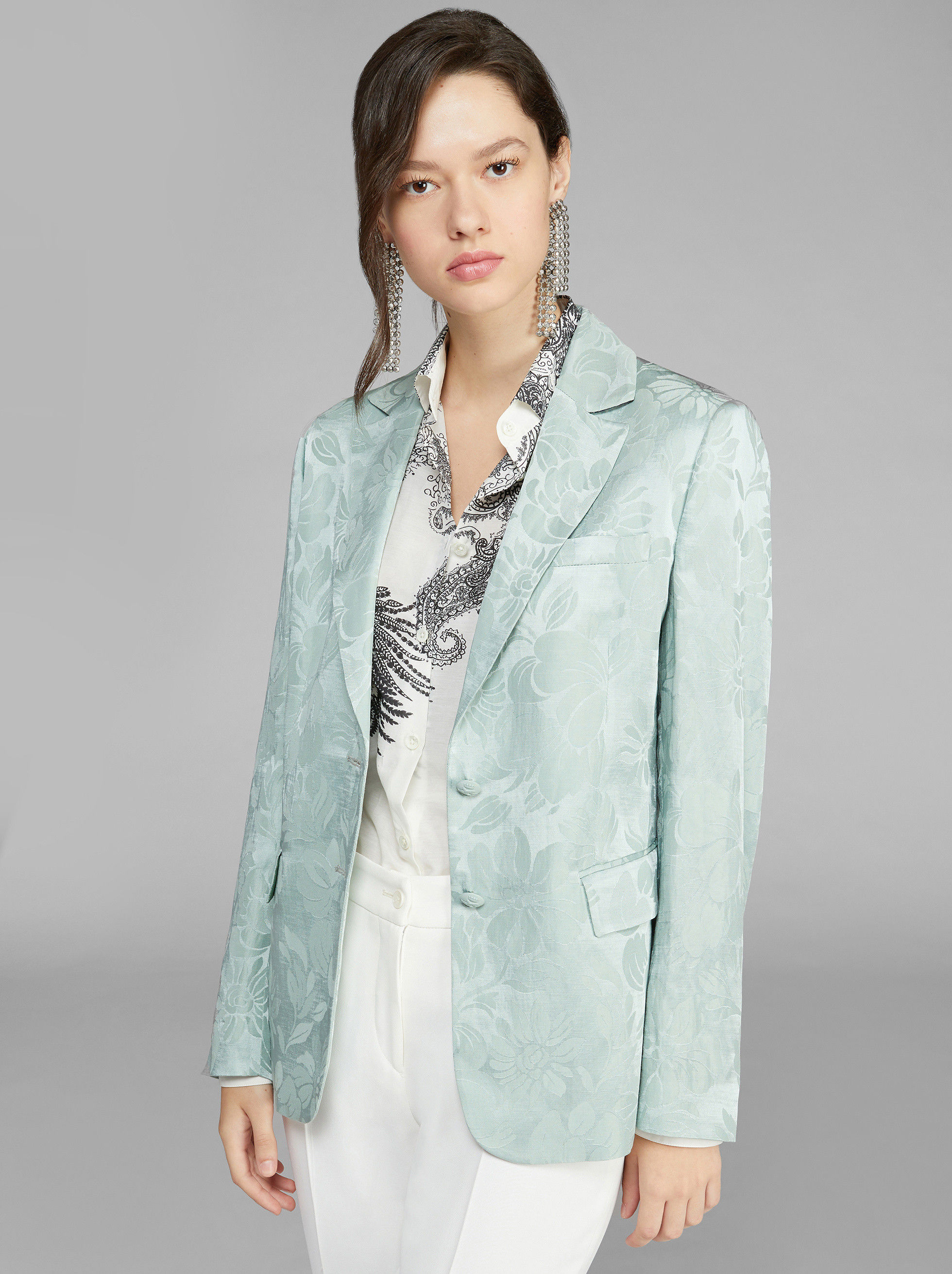 JACQUARD TAILORED JACKET