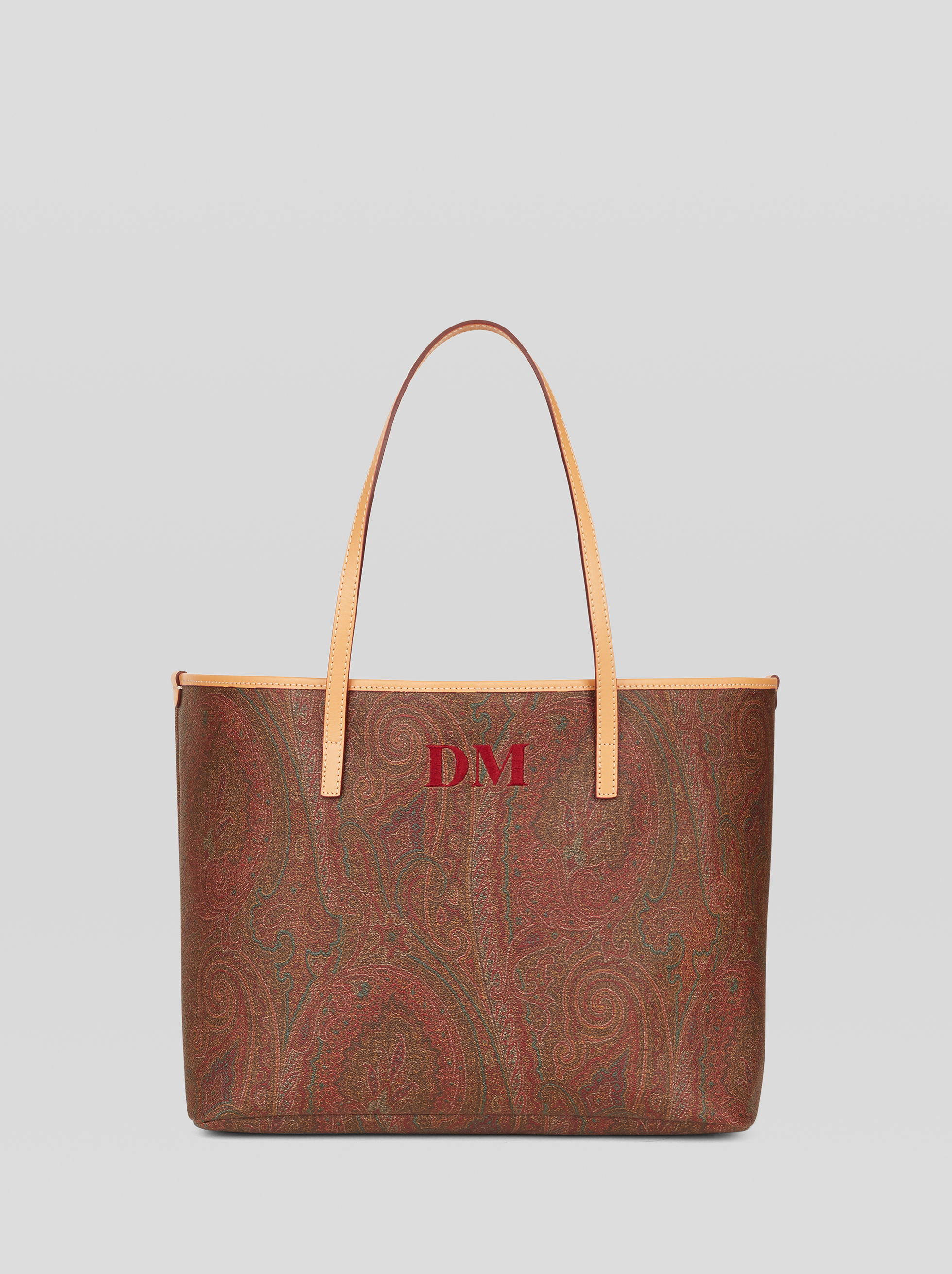 MEDIUM PAISLEY SHOPPING BAG