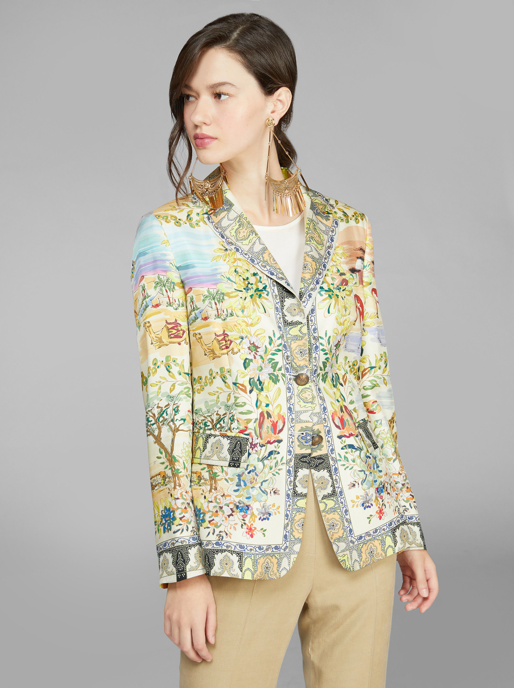 DESERT MIRAGES TAILORED JACKET