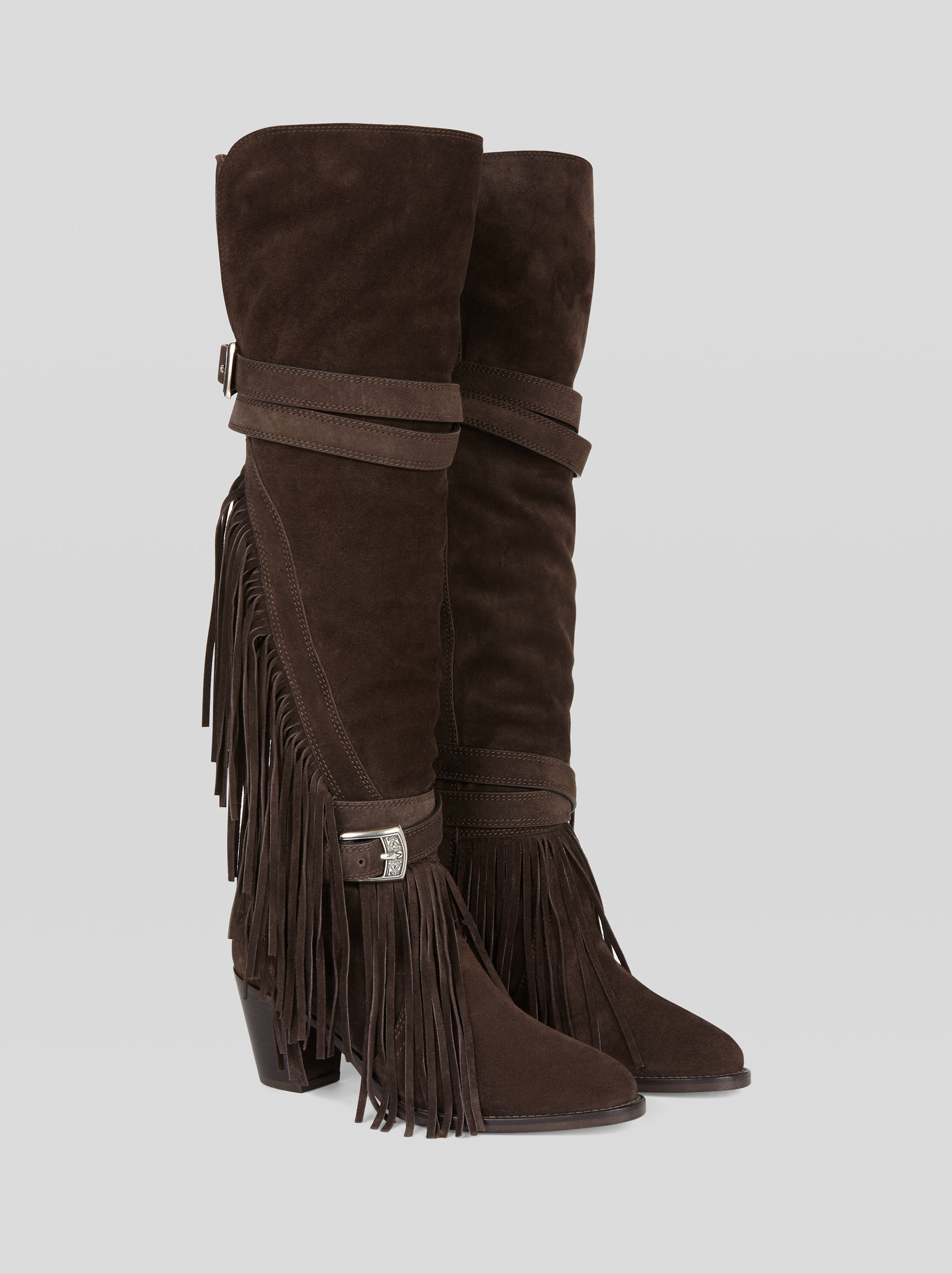 LEATHER AND SHEEPSKIN BOOTS