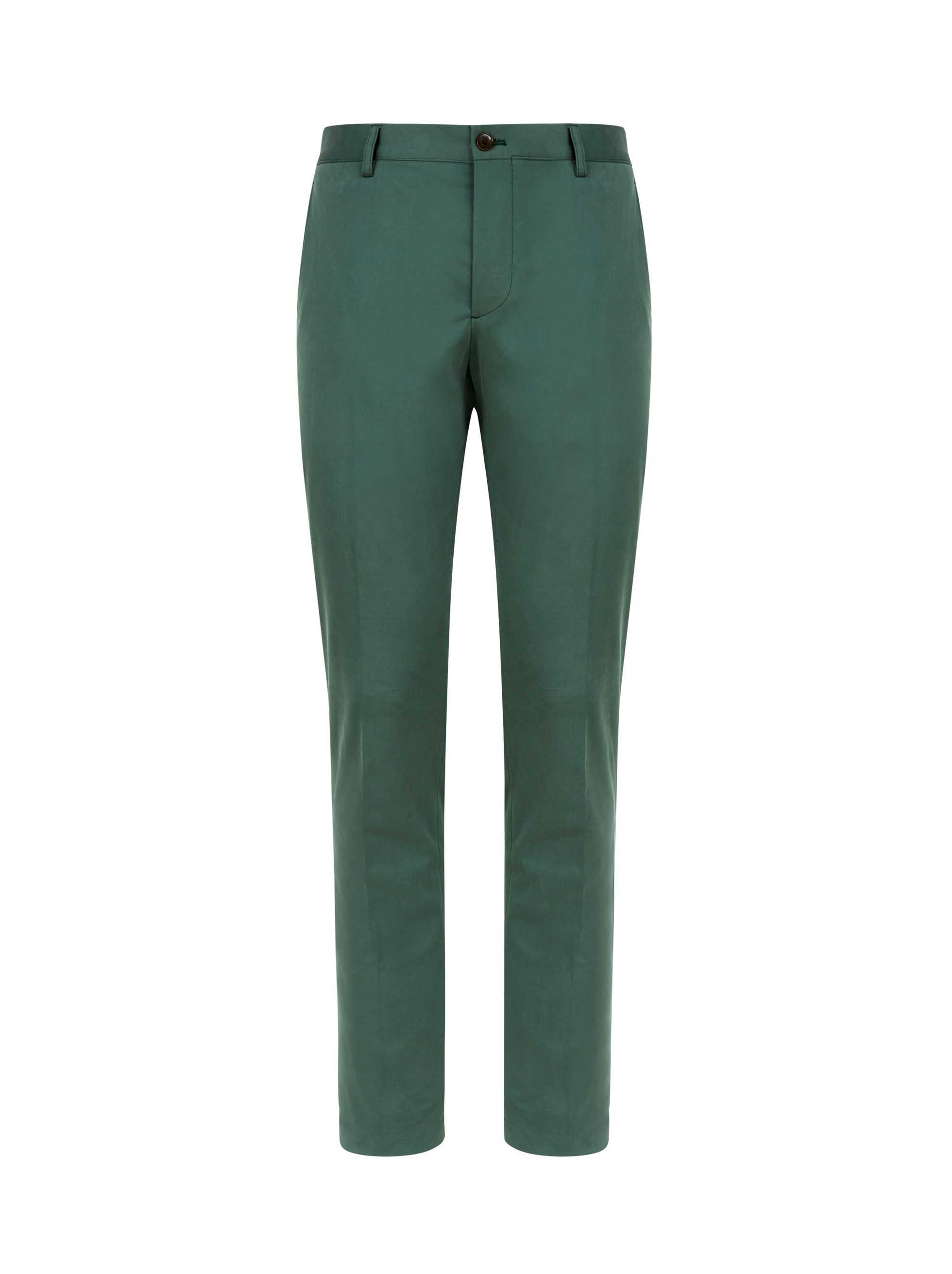 CASUAL COTTON GABARDINE TROUSERS