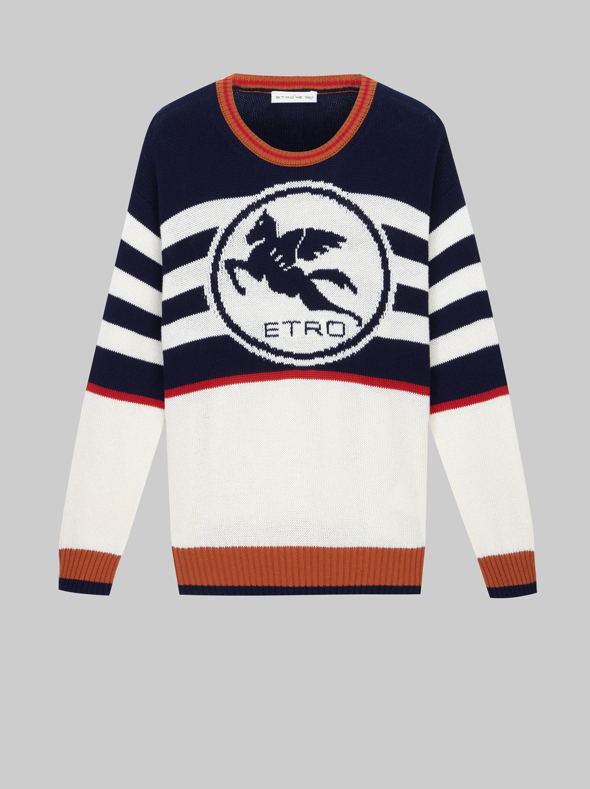 COTTON JUMPER WITH PEGASO LOGO
