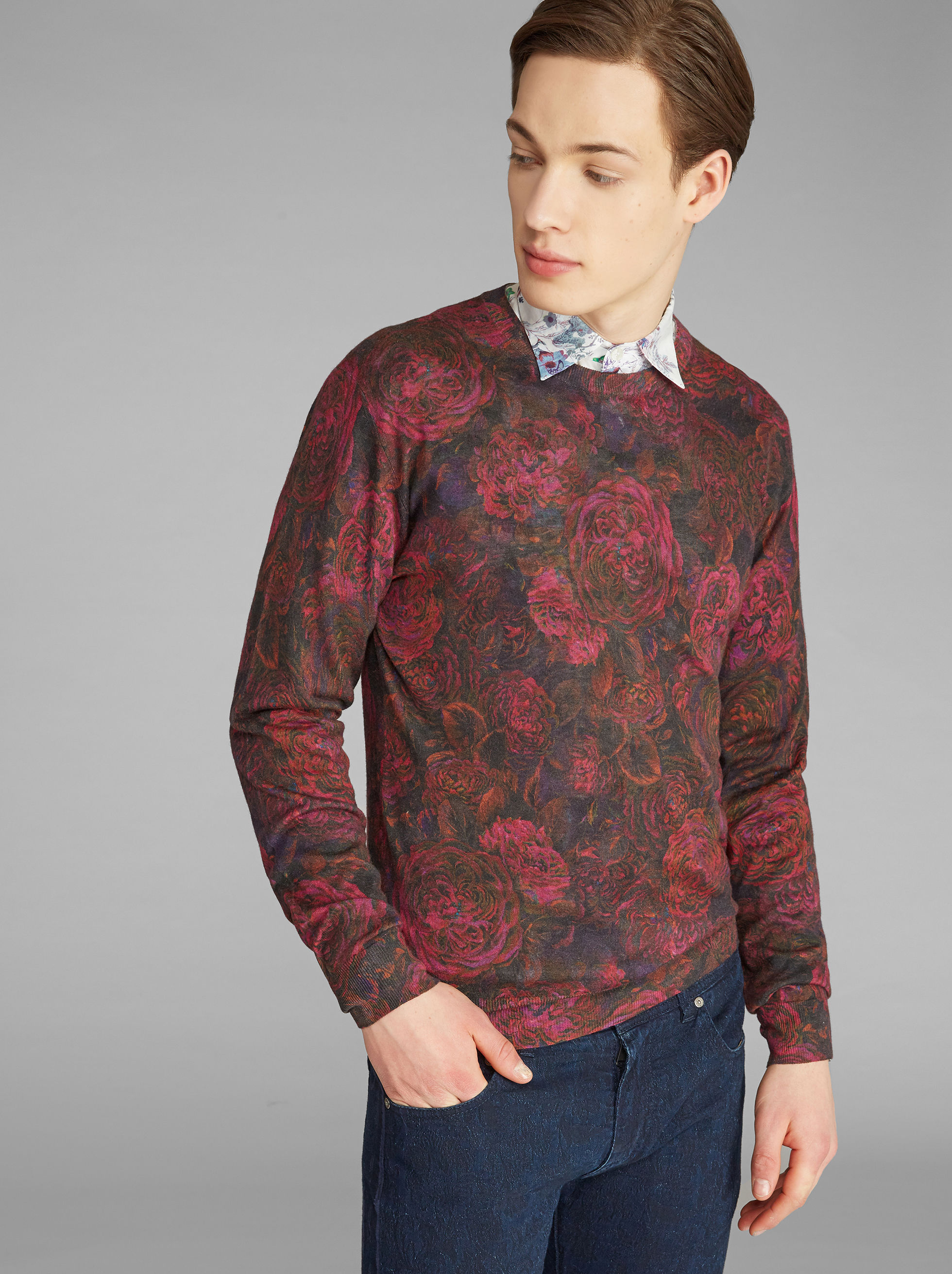 ROSE-PRINT JUMPER