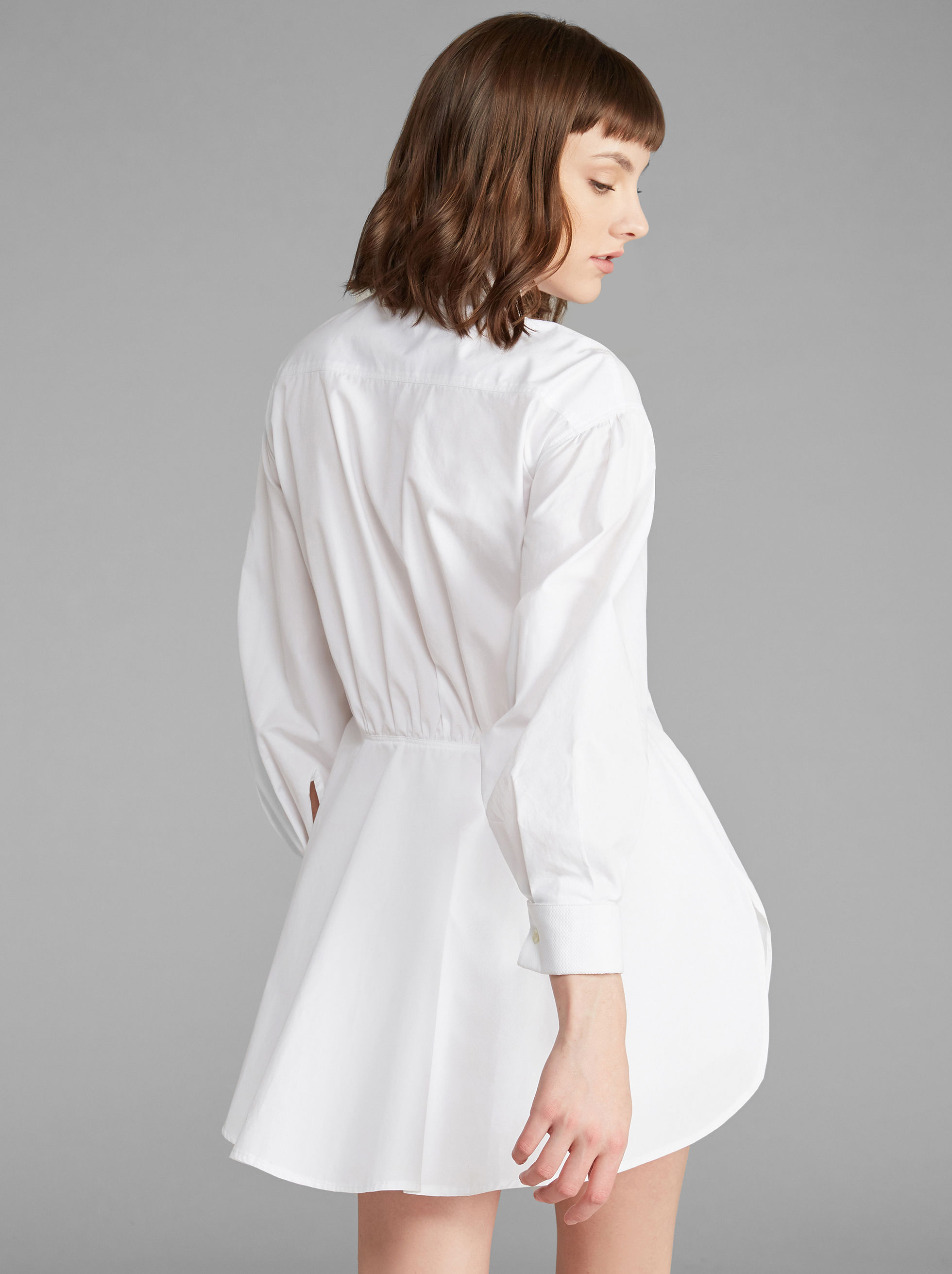 SHIRT DRESS WITH BIB