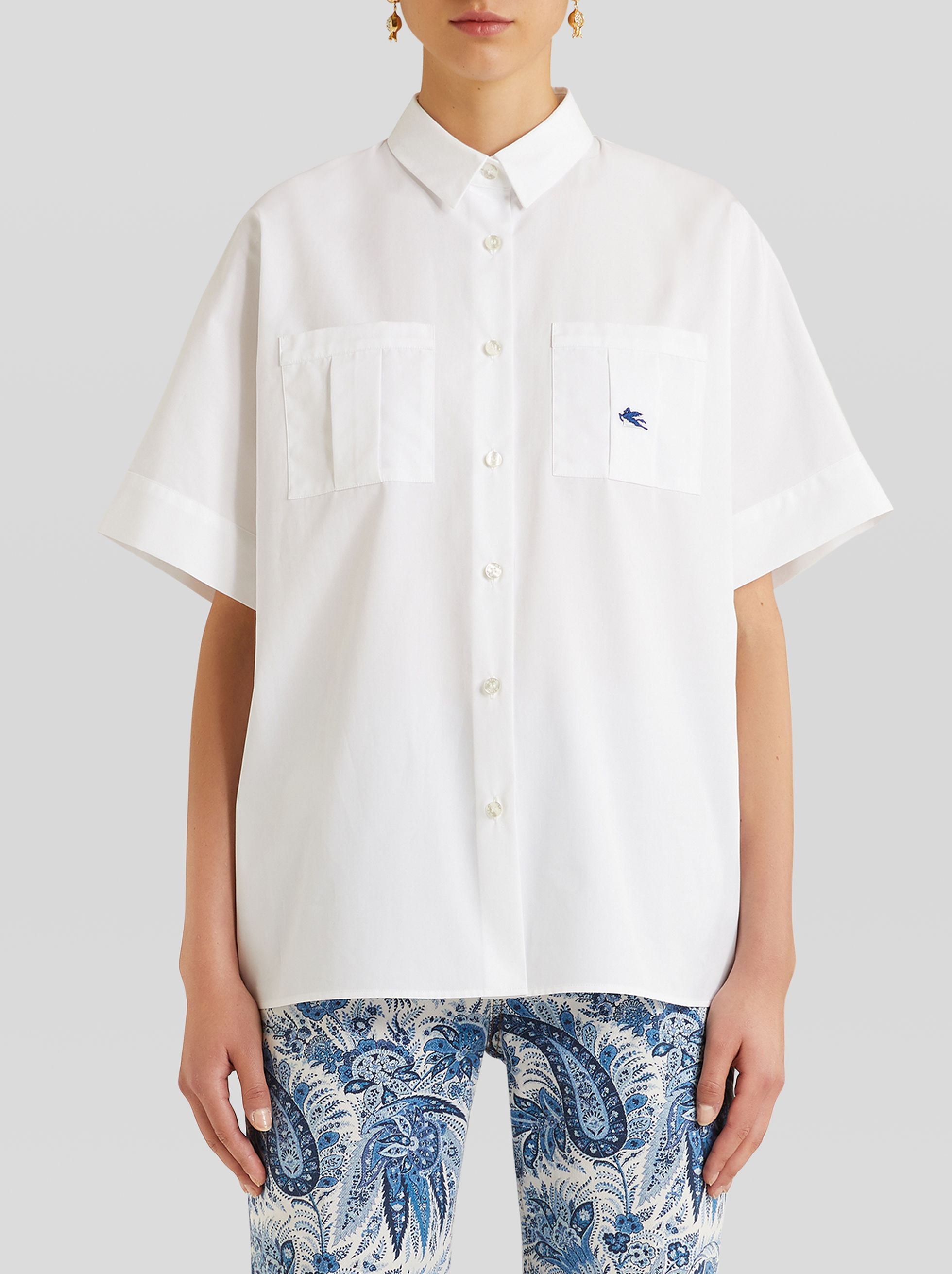 SHORT-SLEEVED SHIRT WITH PEGASO