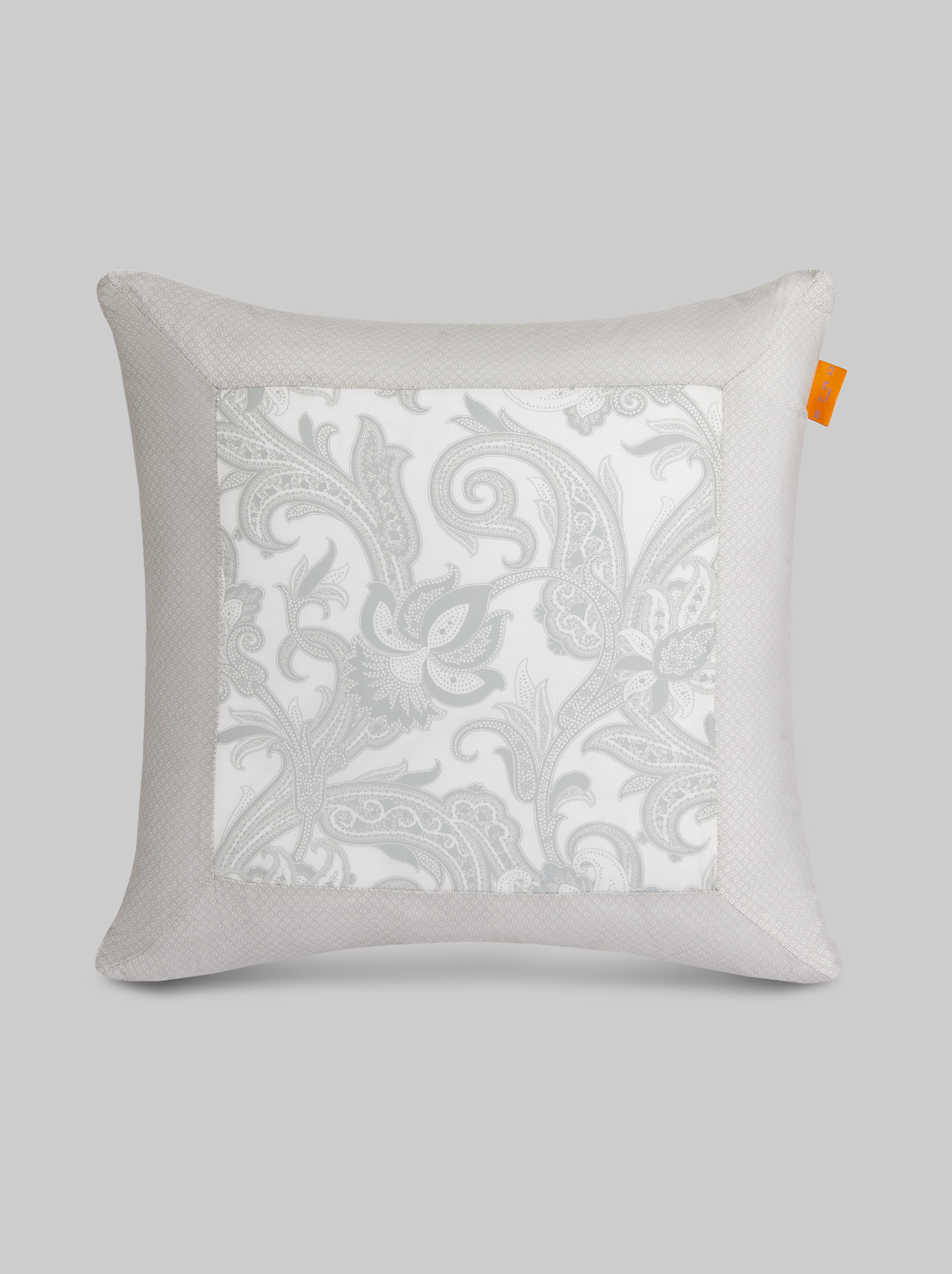 PAISLEY-PRINT CUSHION