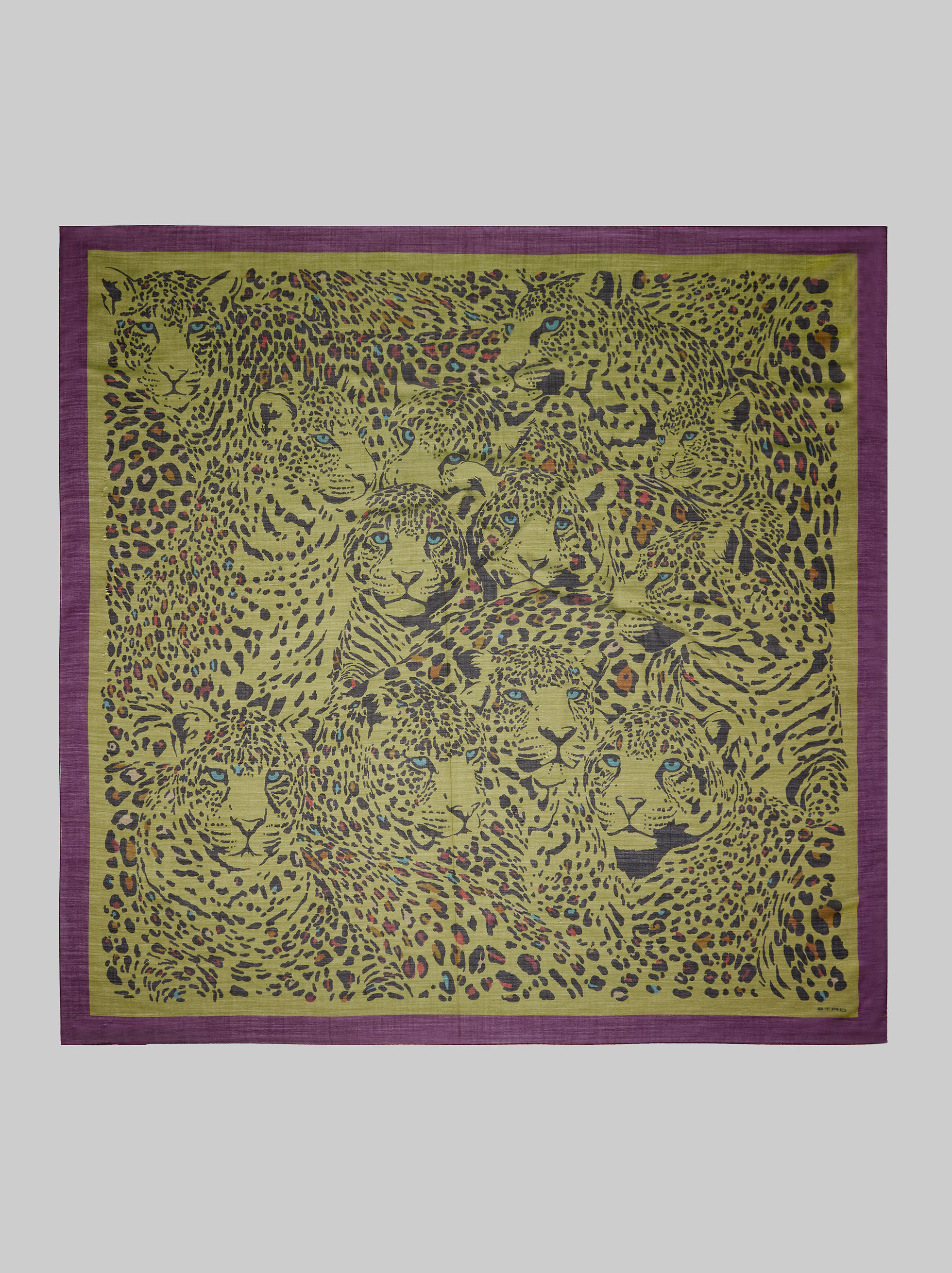ANIMAL-PRINT SHAWL
